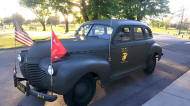 Restored 1941 Chevy Army Sedan