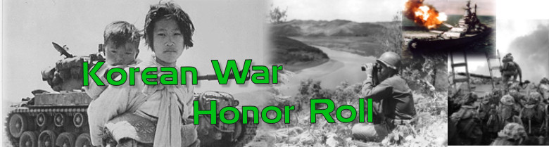 Korean War banner